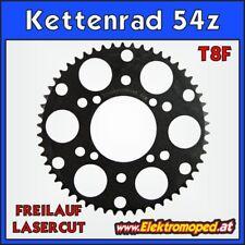 Ersatzteil Elektro-Roller T8F-54z Laser Kettenrad hinten 54 Zähne Freilauf dicke