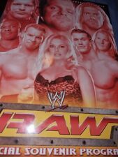 More details for wwe/wwf raw & smackdown autographed 2004/2005 program signed by guerrero benoit