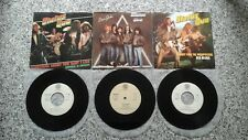 STATUS QUO * 3 Singles 7'45 Made in  PORTUGAL * EXCELLENT