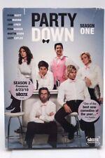 Party Down Season 1 (DVD 2010, 2 Disc Set) Brand New