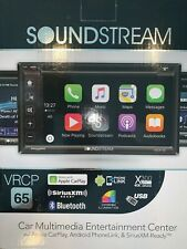 Soundstream Vrcp-65 2-Din 6.2'' Car Stereo Receiver/Dvd with Carplay/Phone Link