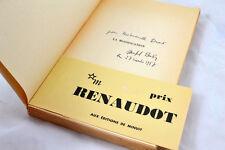 Michel Butor la MODIFICATION Edition originale avec envoi de l'auteur bandeau
