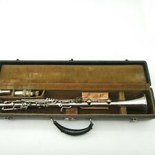 Vintage (Antique?) Jules Revan Paris All Metal Bb Clarinet w/ Case