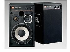 JBL small monitor speakers black Pair 4312M2BK 4312M2-BK Free shipping