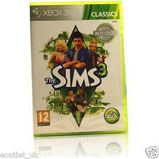 The Sims 3 GIOCO CLASSICS PER XBOX 360 X360 NUOVO E SIGILLATO