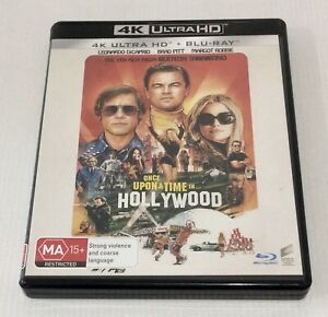Once Upon a Time In Hollywood 4K Ultra HD + Blu-ray 2 Disc Set