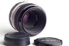 NIKON MACRO MICRO NIKKOR P. C 55mm F3.5 3.5/55mm per NIKON F F2 Nikkormat