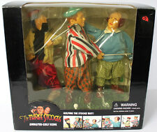 THREE STOOGES ANIMATED GOLF SCENE W/VOICE & THEME SONG COMEDY FIGURES ELECTRONIC