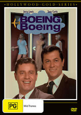 BRAND NEW Boeing Boeing (DVD, 2020) R4 Movie Jerry Lewis | Tony Curtis 1966