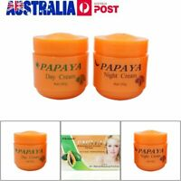 2 Sets of FEIQUE PAPAYA Whitening Cream Anti Freckle Nourishing Skin Fei Que CE