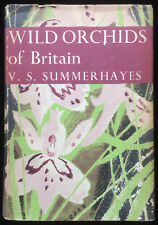Wild Orchids of Britain Summerhayes Key to Species Classic 1st Ed 1951 Book