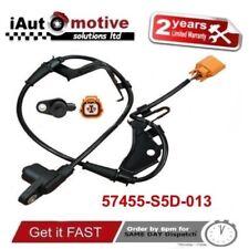 Capteur ABS Avant Gauche Vitesse Roue pour Honda Civic 01-06 57455-S5D-013 Eps