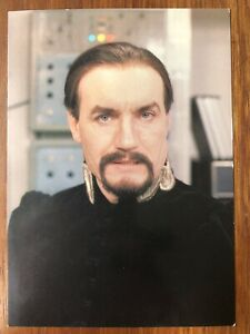 Anthony Ainley : The Master BBC Postcard Doctor Who 1980's