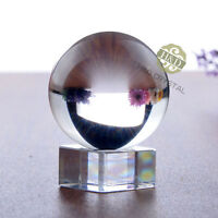Asian Rare Natural Quartz Clear Magic Crystal Healing Ball Sphere 50mm + Stand