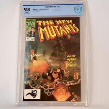 New Mutants 22 Marvel 1984 CBCS 9.8 Nightcrawler & Colossus Equals Top CGC Grade