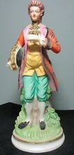 """Flambro Fine Porcelain 12"""" Hand Painted Figurine ~ Made in Taiwan, Signed"""