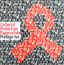 Collectif Protection Rapprochée CD Single Protège-Toi - France (EX/EX)