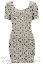 Round Neck Short Sleeve Topshop Dresses for Women