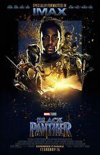 Black Panther movie poster (f) - Chadwick Boseman - 11 x 17 inches