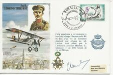 RAF FDC - 2nd Lt Edmond Thieffry  - Signed  - C56  (4785) (Z)