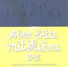 """UDO JÜRGENS """"ABER BITTE MIT SAHNE-JUBILÄUMSEDITION"""" 2 CD NEUWARE"""