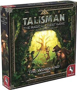 Talisman Board Game 4th Edition: The Woodland Expansion