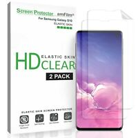 For Samsung Galaxy S10 / S10+ / S10e - amFilm TPU Screen Protector Film (2 Pack)