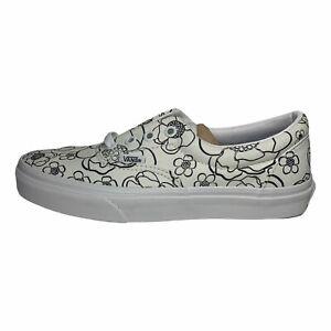 Vans U-Color Era True White Skate Lace Up Shoes Women's Size 7 / Men's Sz 5.5