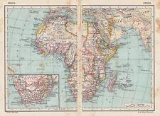 C2913 Africa - Carta geografica d'epoca - 1936 vintage map
