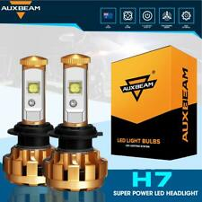 2X AUXBEAM H7 LED Headlight Kit Light Bulbs Lamp 6000LM 60W White Beam 6500K