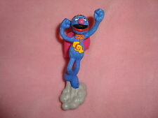 Sesame Street Grover as Super Grover Applause PVC Figure 3.5""