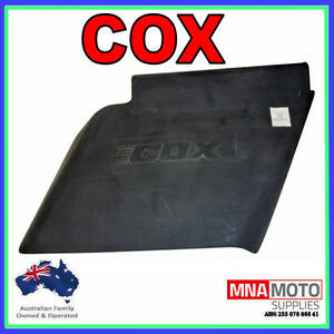 CUTTER DECK GRASS DEFLECTOR COMPLETE KIT FOR COX RIDE ON MOWERS  SKIT66
