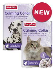Beaphar Calming Collar Dogs Cats Reduces Stress Problem Behaviour Relax Settle