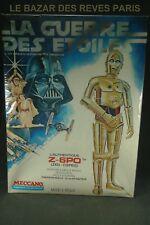 MECCANO.  STAR WARS.  Z-6PO.   Vintage kit 1977. +Boite