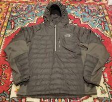 Mens The North Face Gray 600 Fill Goose Down Puffer Pullover Parka Jacket Medium