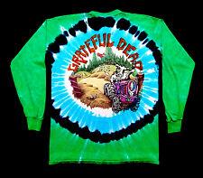 Grateful Dead Shirt T Shirt Vintage 1995 Vermont VT Tie Dye Highgate Cow GDM L