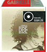 GABRIELLE Exclusive Sampler For Rise 4 TRACK CARD slv PROMO CD SINGLE