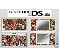 nintendo DS Lite - WWE WRESTLING 4 Piece Decal / Sticker Skin vinyl