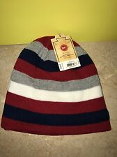 Urban Pipeline Multi Thin-Striped Beanie Winter Hat One Size NWT