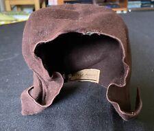 Vintage Brown Hat Brennan's Little Shop Detroit, imperfect