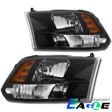 Factory Style Quad [Anti-Fog] Headlights For 2009-2018 Dodge Ram 1500/2500/3500