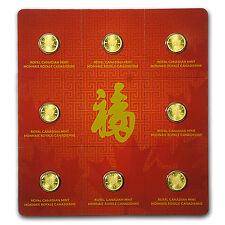 2016 8x 1 gram Gold Maple Leafs - Maplegram8™ (In Assay Sleeve) - SKU #94816