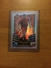 MATCH Attax 2012/13 Steven Gerrard Limited Edition LE6 MOLTO RARA pacchetto Fresh