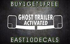 Ghost trailer activated decal sticker bumper sticker diesel duramax 1500 ford