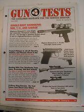 Gun Tests Magazine June 2000 .22 LR Pistols .308 Bolt Action Rifles Beretta EL22