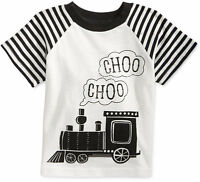 First Impressions Baby Boys' Raglan-Sleeve Train T-Shirt, Sizes 3 To 24 Months