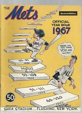 Original   1967  New York Mets Yearbook  Rev Ed   Ext condition
