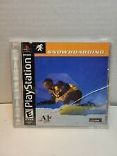 Snowboarding Sony PlayStation 1 PS1 Agetec A1 Games Tommo Everyone Sports - BB27