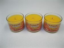 "Bath & Body Works / Slatkin & Co. 1.6 oz. Mini Candles ~ ""Citrus Flower"" x 3"