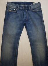 Diesel Industry Safado Mens Denim Blue Jeans Size 31 x 32 Straight Leg Med EUC